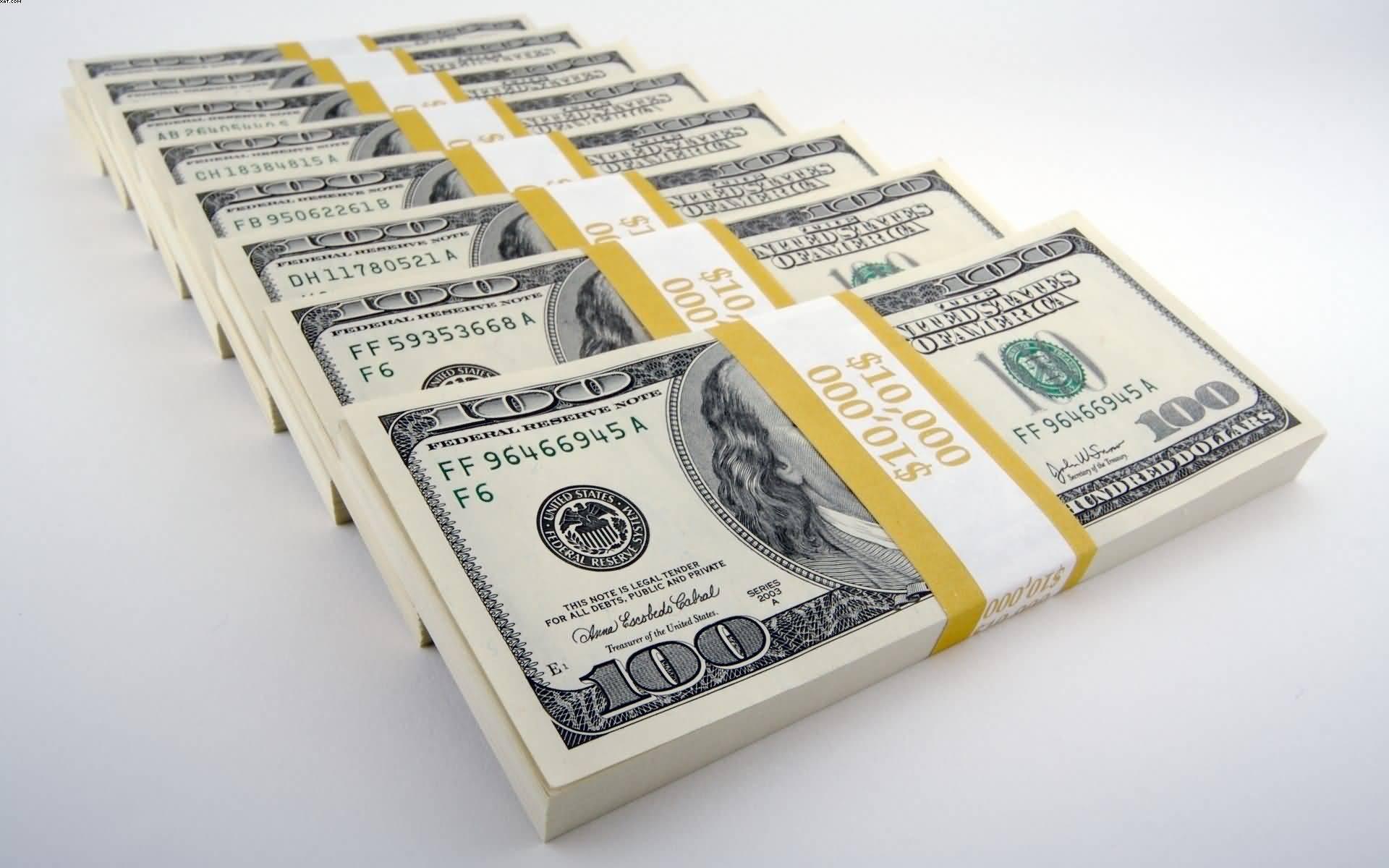 American Money Dollar Notes Wallpaper