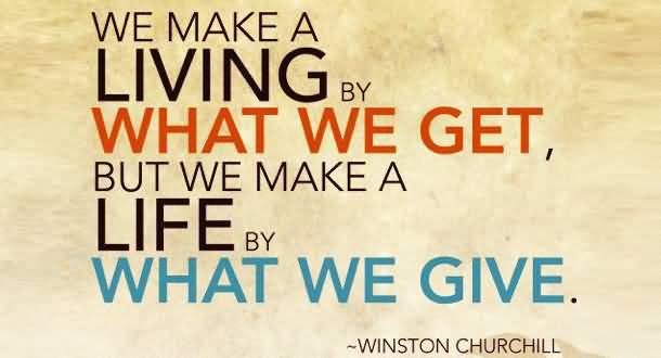 We Make A Life