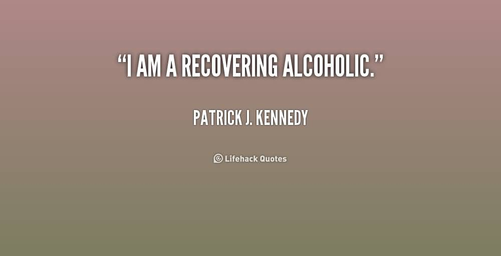 I am dating a recovering alcoholic