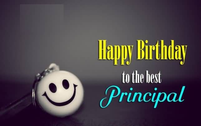 Principal Birthday Wishes