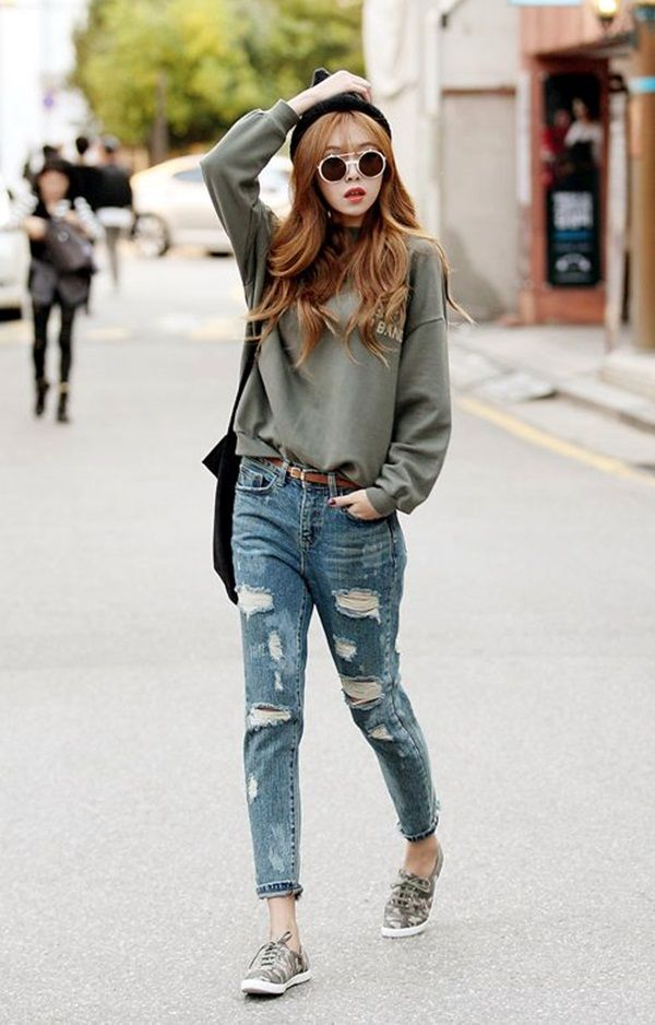 Chic College Girl Fashion Styles