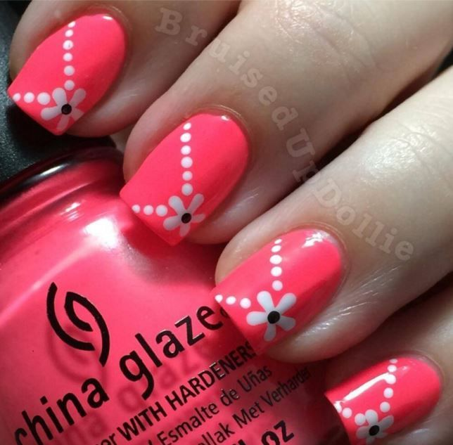 Easy Nail Art Designs To Do At Home Archives Picsmine