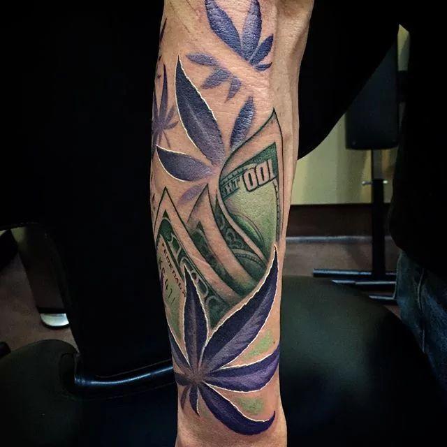 Marijuana Tattoos Designs Ideas And Meaning: 35 Fascinating Weed Tattoos Designs & Ideas