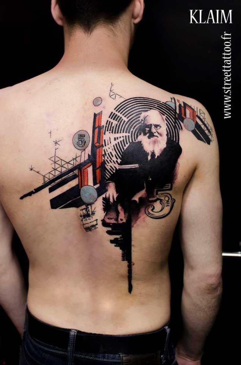 Graphic Tattoos