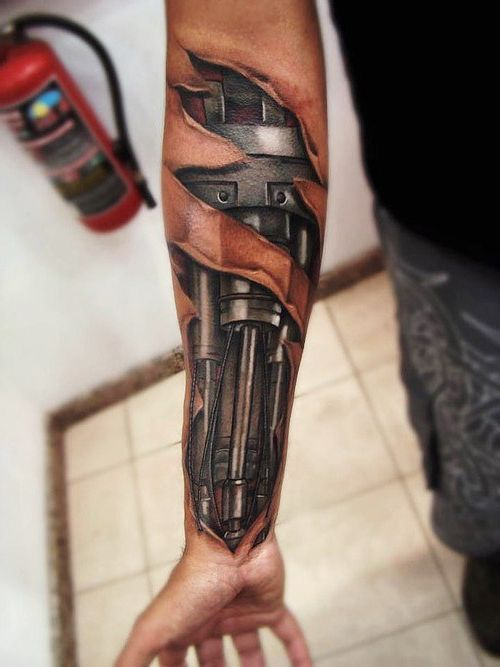 35 awesome biomechanical tattoos images designs picsmine. Black Bedroom Furniture Sets. Home Design Ideas